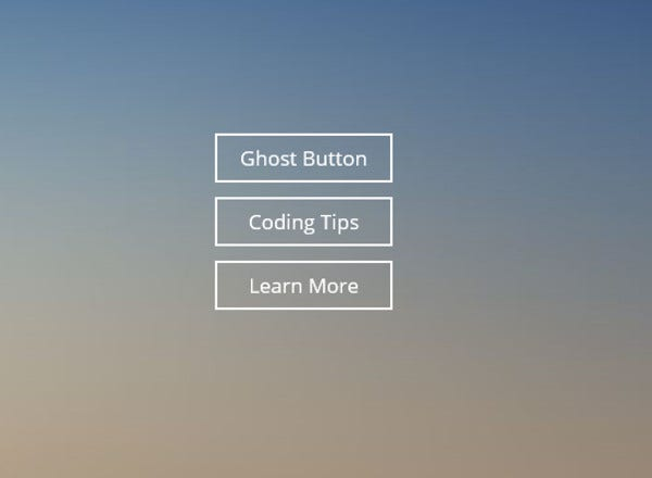Simple Ghost Buttons