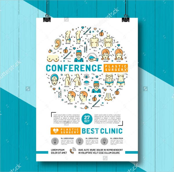 7 conference invitation templates free editable psd ai vector medical conference invitation template stopboris Image collections