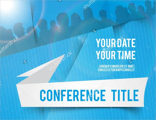 7 conference invitation templates free editable psd ai vector conference invitation template vector stopboris Image collections