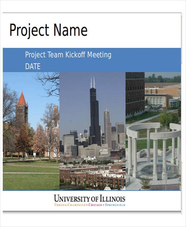 project team presentation template
