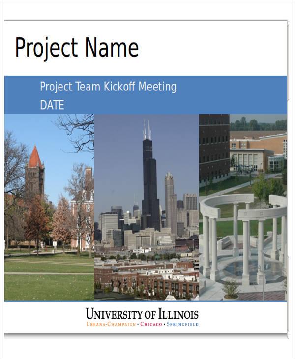 project team presentation template