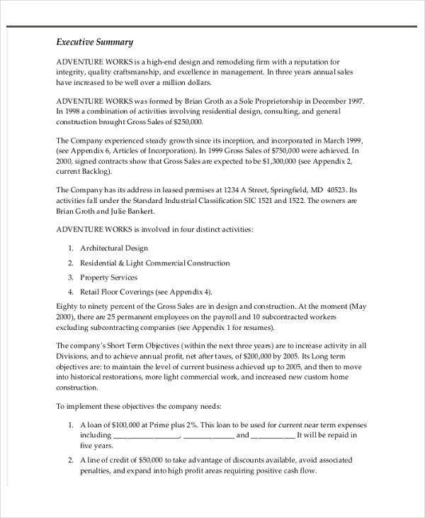 loan letter templates 9 free sample example format download