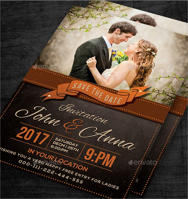 Surprise Wedding Invitation