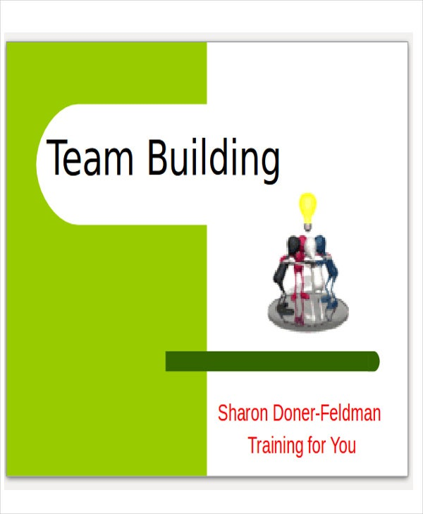 team building presentation template