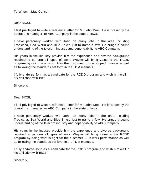 Exceptional Client Reference Letter Template To Customer Reference Template