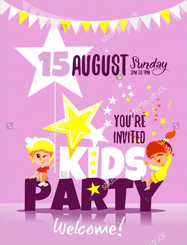 Kid Party Invitation