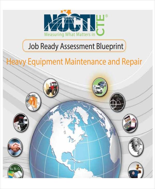 heavy equipment maintenance schedule template