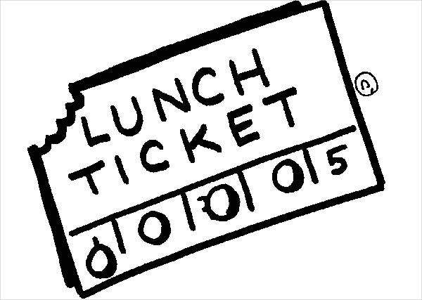 Luncheon Ticket Template Word