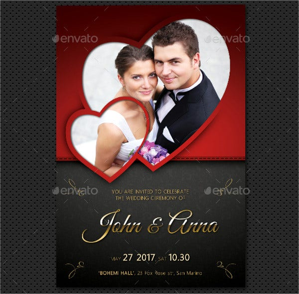 wedding photo invitation1