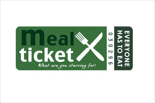 meal ticket template 7  Luncheon Ticket Templates - Free PSD, AI, Vector EPS Format ...