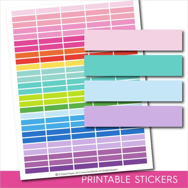 elit templates sticker - 9 planner stickers free psd ai vector eps format