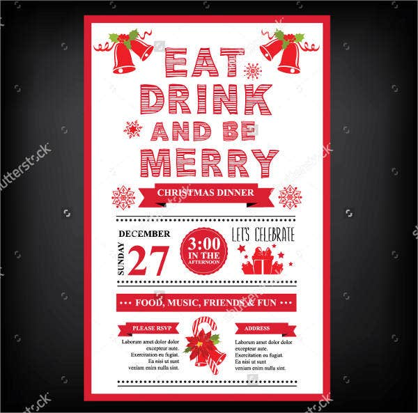 6 Lunch Invitation Templates Free Sample Example Design – Lunch Flyer Template