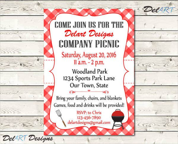 Lunch Invitation Templates  Free Sample Example Design
