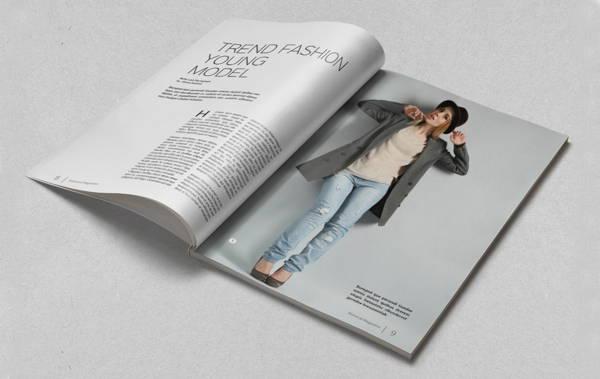 simple-minimal-magazine-template