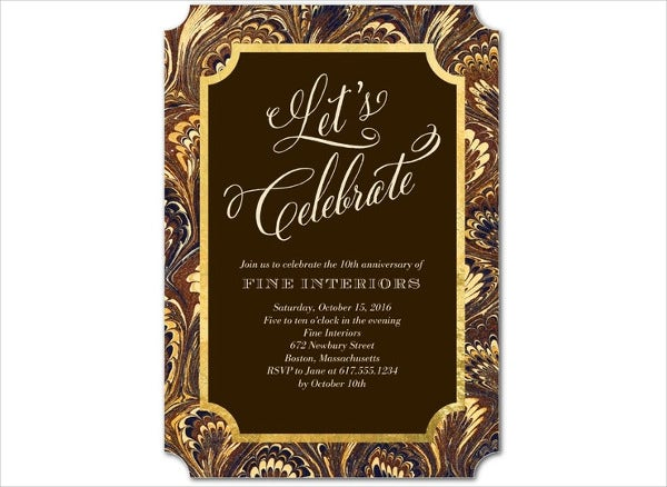 46 event invitation templates free premium templates formal corporate event invitation wajeb Images