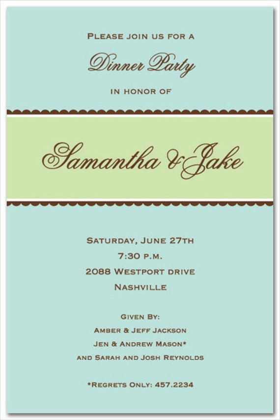 Event Invitation Template – Free Event Invitation Templates