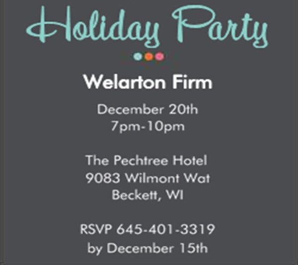 -Annual Employee Event Invitation
