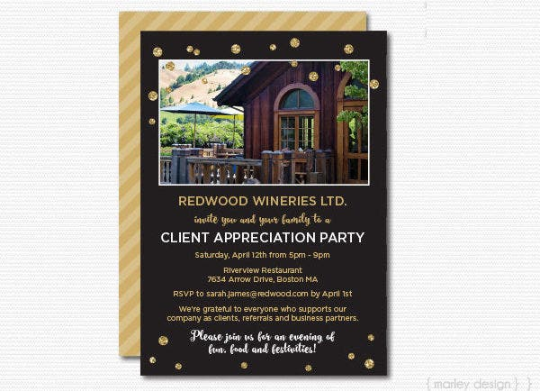 -Client Appreciation Event Invitation