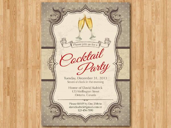 corporate cocktail dinner invitation