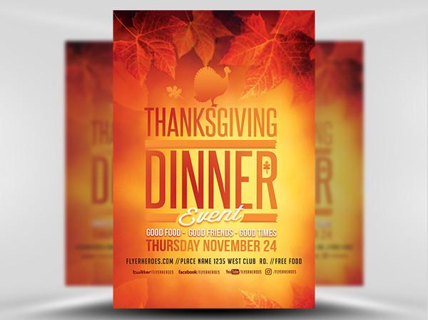 -Corporate Dinner Event Invitation