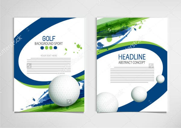 -Golf Outing Event Invitation
