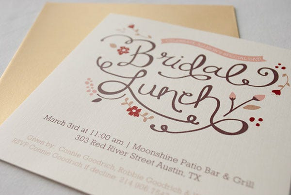 -Lunch Party Event Invitation