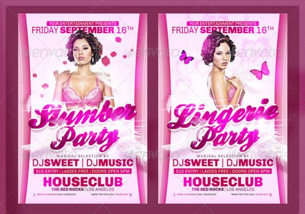 -Ladies Party Event Invitation