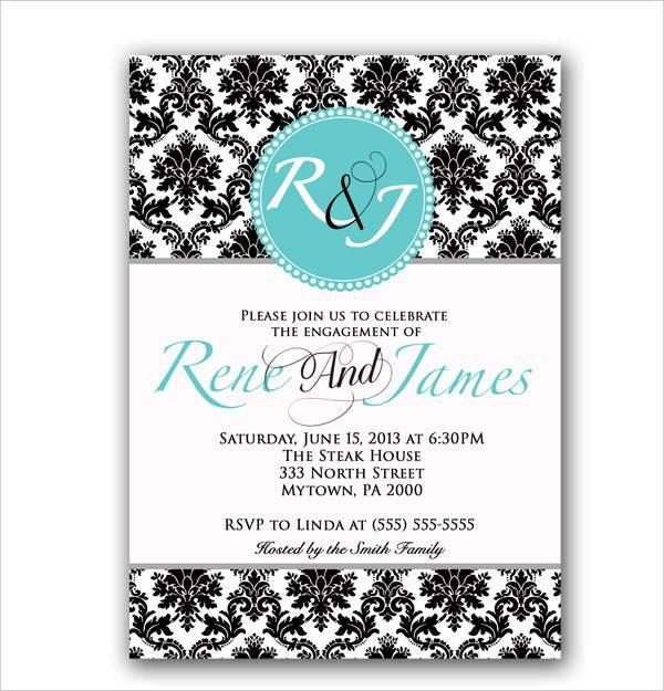 wedding dinner invitation card1