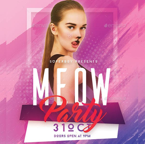 -Ladies Kitty Party Event Invitation