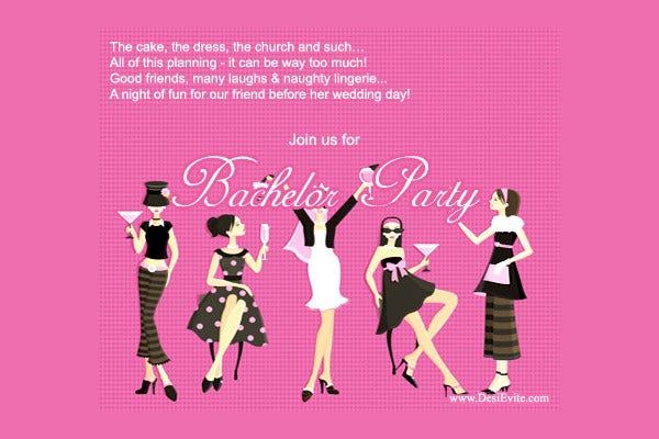 -Printable Ladies Event Invitation