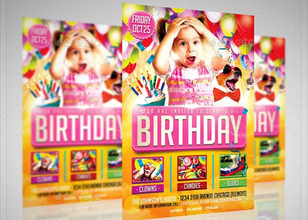 -Birthday Party Event Invitation