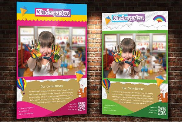 -Welcome To Kindergarten Event Invitation