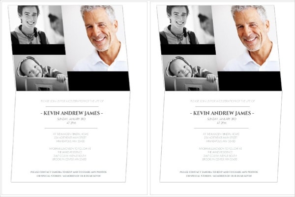 11 Ceremony Invitation Templates Free Editable PSD AI Vector – Funeral Ceremony Invitation