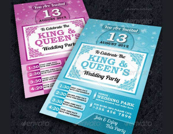 -Wedding Party Event Invitation