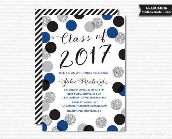 36 Dinner Invitation PSD Templates – Graduation Dinner Invitations