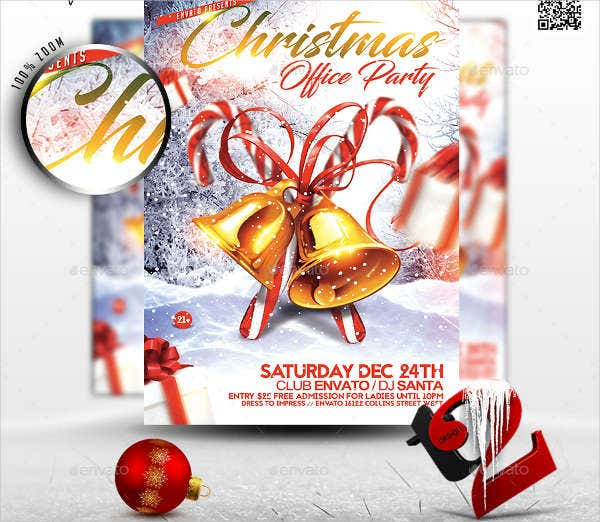 -Office Party Event Invitation