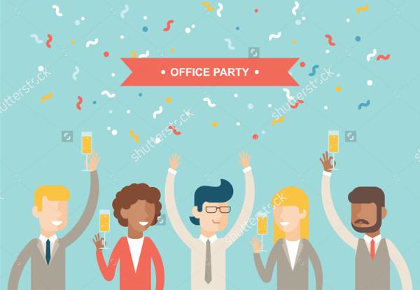 -Printable Office Event Invitation