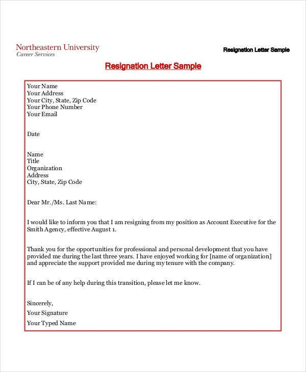 34 letter templates in pdf free pdf documents download free format of resignation letter in pdf maxwellsz