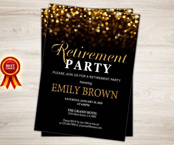 retirement farewell dinner invitation3
