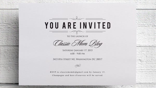 46+ Event Invitations Designs & Templates - PSD, AI | Free ...