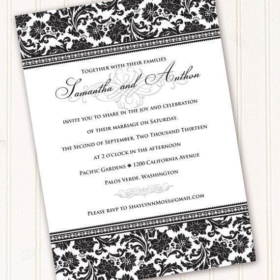 46 event invitation templates free premium templates wedding event invitation wording stopboris Gallery