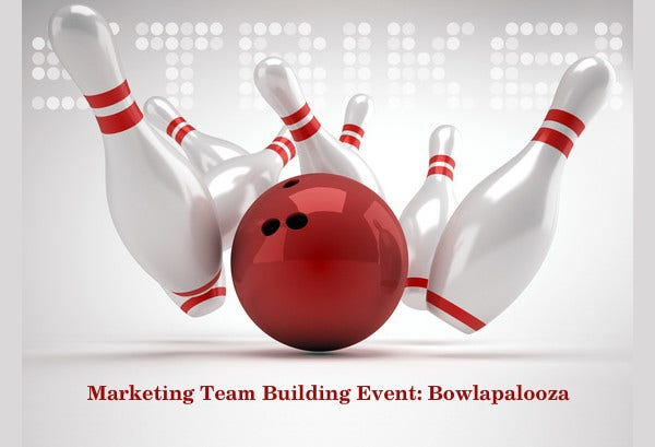 business team event invitation