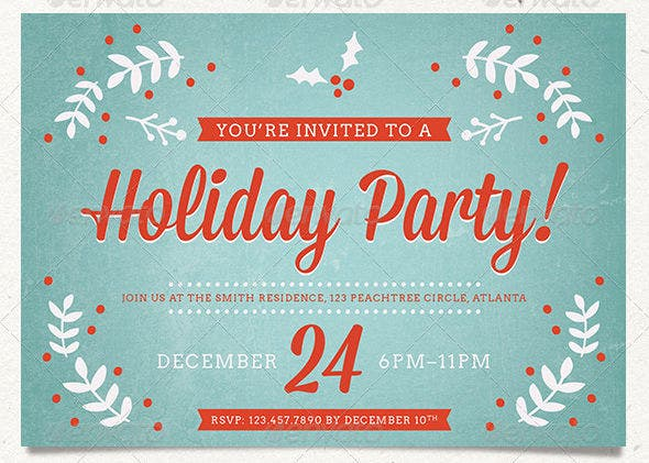 holiday-event-invitation-psd