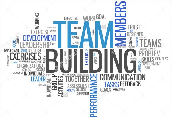 -Team Building Event Invitation