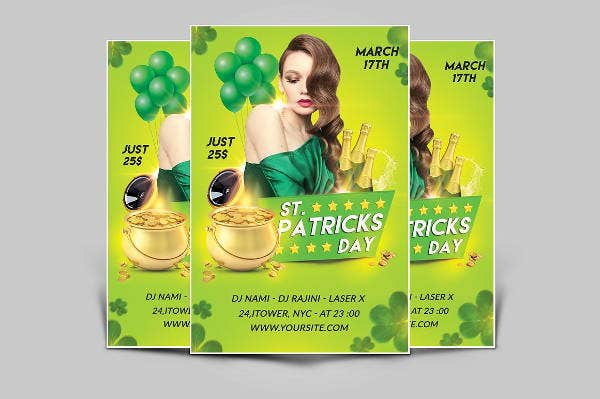 printable st patrick%e2%80%99s day flyer