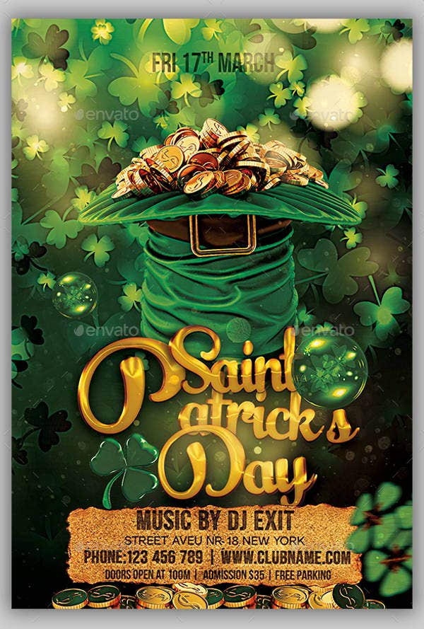 st-patricks-day-psd-flyer-template