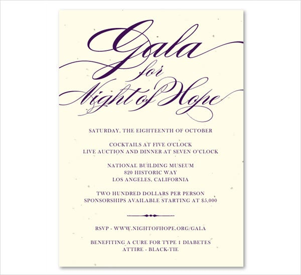 Printable Event Invitations – Business Event Invitation