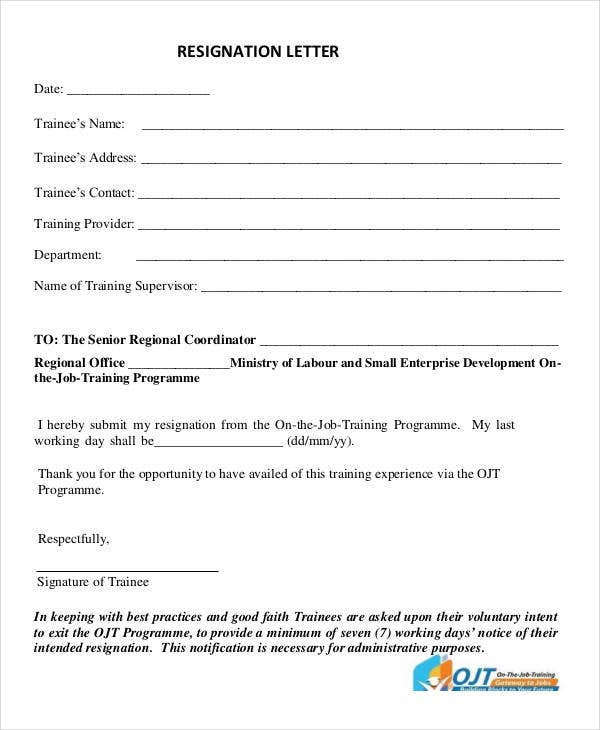 30 Formal Letter Templates Free Word PDF Documents Download – Good Faith Letter