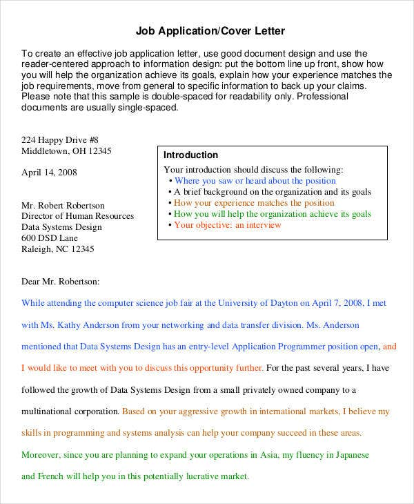 cover letter format spacing example good resume template hloom com