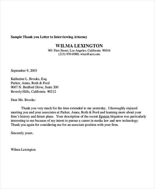 Formal Interview Letter How To Write A Letter To Principal